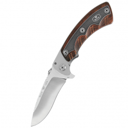 Складной нож Buck Open Season Folding Skinner Rosewood B0547RWS