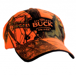 Бейсболка Buck Mossy Oak Blaze Orange 89054